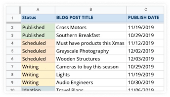 Create your Google Sheet document
